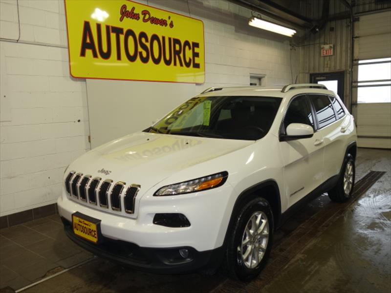 used 2015 jeep cherokee latitude for sale in peterborough on by john dewar 39 s autosource. Black Bedroom Furniture Sets. Home Design Ideas