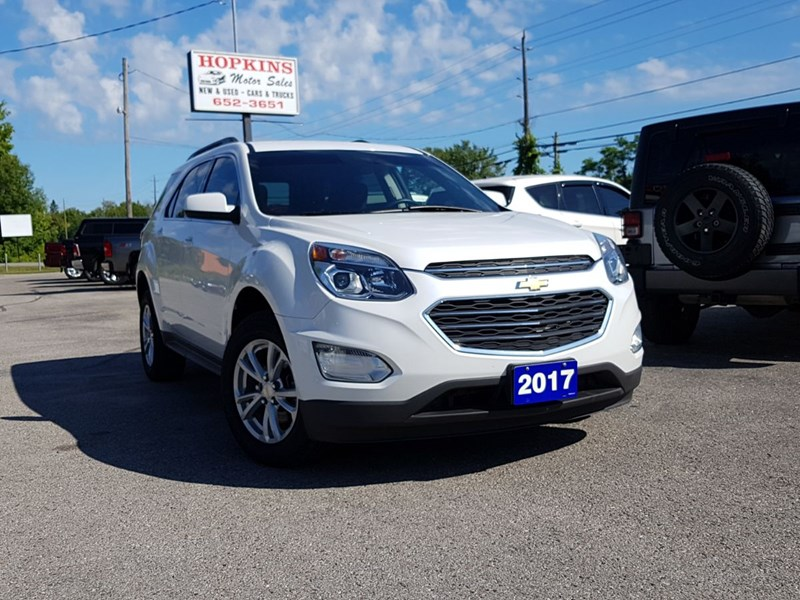 used 2017 chevrolet equinox lt for sale in lakefield on by hopkins motor sales wheelsonline ca